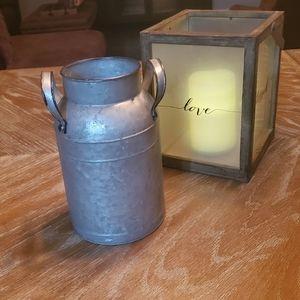 Small Decorative Milk Can